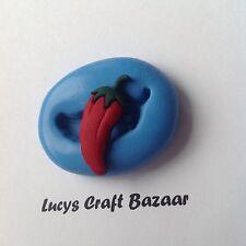 Stampo in silicone Chilli DOLLS HOUSE miniatura cake Decorazione POP TOPPER SCULPEY