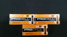 72 Duracell Procell AA Batteries  New - EXP march 2022 longest exp date on ebay!