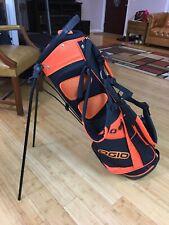 Ogio Carry Stand Golf Bag Dual Strap 4 Way Orange/black