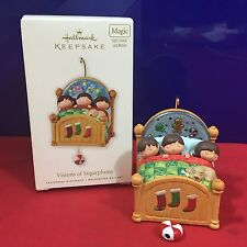 Hallmark Magic Light and Motion Ornament Visions of Sugarplums 2010 NEW HB6