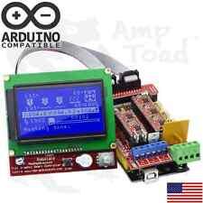 Arduino RAMPS v1.4 3D Printer Kit & Mega 2560 & 4 x A4988 Drivers & LCD12864 MCU