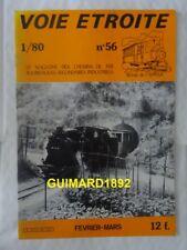 Voie étroite n°56 février 1980 Verdun