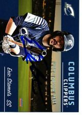 Eric Stamets 2018 Columbus Clippers Signed Card