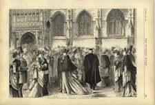 1874 Gloucester Music Festival Fashionable Arrivals