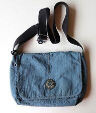 Kipling Private Transport Blue Crossbody Satchel Messenger Bag SUPER CLEAN