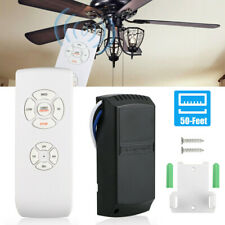 Universal Wireless Timing Remote Control Receiver Ceiling Fan Lamp Light Kit