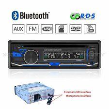 Car Stereo Audio Radio DVD CD MP3 Player Bluetooth FM/AM/RDS AUX Input In-Dash