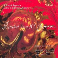 Louis Couperin: Works for keyboard instruments Vol. 1 [CD]