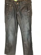 G-Star Raw Women's 3301 Jeans SZ 26X32 Slate Chino Med Wash Midge Loose Fit NWT