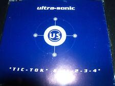 Ultra-sonic Tilk-Tok & 1 2 3 4 Remixes CD Single – Like New