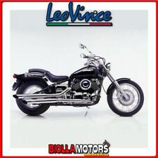 scarico completo leovince yamaha xvs 650 drag star classic 1998-2002 silvertail
