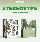 STAYC 1st Mini Album [STEREOTYPE] Random Ver CD+P.Book+5p Card+F.Poster(On Pack)