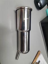 (4) BouMatic Stainless Steel Standard liner shells 8517327