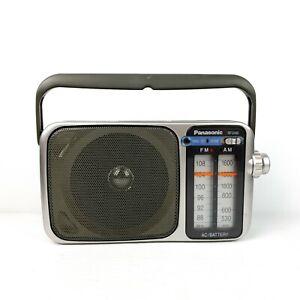 Panasonic RF-2400 Portable FM/AM Radio - Tested Working - FREE POST