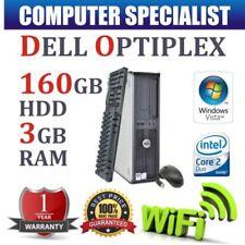 PCs de sobremesa y todo en uno Intel Core 2 Duo 3GB