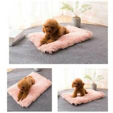 Plush Pet Dog Cat Bed Fluffy Soft Warm Calming Bed Sleeping Kennel Nest O3