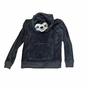 SO Authentic Heritage Sweatshirt Hoodie Sloth Intimates Sleepwear Size M Juniors