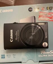 LNIB Excellent! Canon PowerShot ELPH 320HS 16.1MP Camera w/SD Card