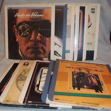 Vintage CED Video Disc LOT 11 Disc (Eastwood, Reynolds, Hanks, Selleck etc)