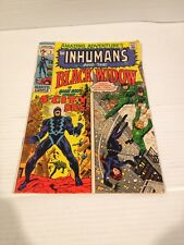 Vintage Inhumans And The Black Widow 1971 Comic #5