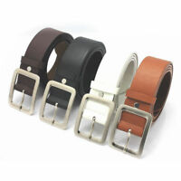 Fashion Leather Dress Belt Casual Pin Buckle Waist Strap Belt Trousers Waistband