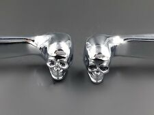Skull Brake Clutch Levers For Harley Softail Dyna Sportster XL Cruisers Touring