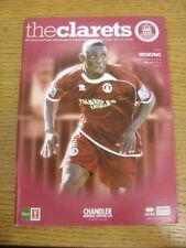 26/11/2011 Chelmsford City v Woking [FA Trophy] . Any faults with this item shou