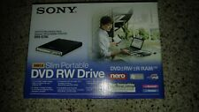 Sony Model DRX-S70U Slim Portable Rewritable DVD/CD Optical Drive New