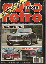 AUTO RETRO 83 TRIUMPH TR5 AUTOBIANCHI EDEN ROC STYL'SON 350 PACKARD CLIPPER 41