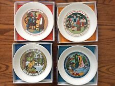 "Wedgwood England Children'S Story 6 1/8"" Collector Plates. Lot Of 4"