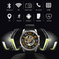 Original KingWear KW88 Smartwatch Bluetooth Android MTK6580 Quad Core 4GB GPS