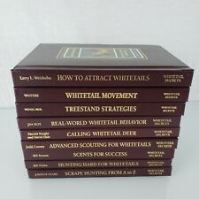 9 New Whitetail Deer Hunting Strategy Books Derrydale 1996 Secrets Library Set
