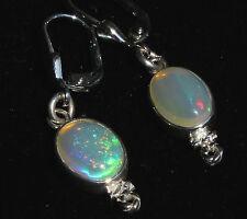 Top Brasil Crystal Opal 3.6 Karat Ohrhänger 925er Silber Unikat