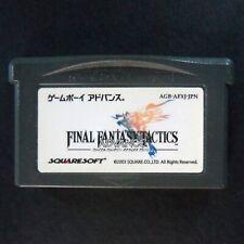 FINAL FANTASY TACTICS Game Boy Advance NTSC JAPAN・❀・RPG Nintendo ファイナルファンタジ