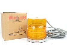 Nos Whelen 60218 Strobe Light Beacon Head Assembly F Amber Lens New Withorig Box