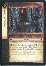 Lord Of The Rings CCG Foil Card MoM 2.U70 Power And Terror