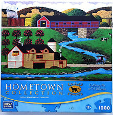 jigsaw puzzle 1000 pcs Covered Bridge HomeTown Collection Heronim 2011