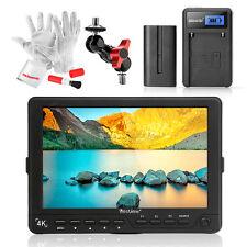 "BESTVIEW S7 4K Camera HDMI HD Monitor Video Field 7"" DSLR Monitor +Battery Pack"