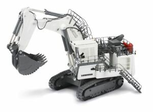 NZG 860/1 - Large LIEBHERR R 9400 Mining Excavator with Backhoe 1:50