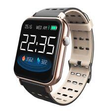 Resistente al agua Bluetooth Reloj inteligente Monitor de frecuencia cardíaca Mate para IOS Android Y6 Pro