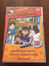 DETECTIVE CONAN DVD 26 - 1 DVD - 2 CAPS - 50 MIN - JONU MEDIA PLANETA DEAGOSTINI