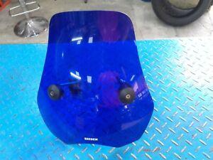 Bulle bleu bleue pour phare rond roadster type hornet bandit 1400 gsx ....