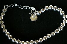 Designer 925 Sterling Silver Bracelet. Length 7.5 inches.  RRP £90
