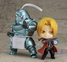 2pcs Nendoroid 796 788 Fullmetal Alchemist Alphonse & Edward Elric PVC Figure NB