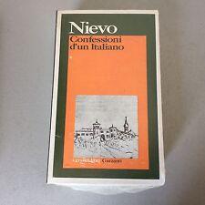 VINTAGE# GARZANTI ELEFANTI # NIEVO CONFESSIONI DI UN ITALIANO  '#NUOVO Sigillato
