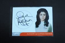 Gerry Anderson UFO AYSHEA BROUGH  AUTOGRAPH CARD AB1 1:150