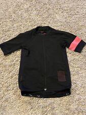 Rapha Pro Team Jersey Size Small Black Hi Viz Pink