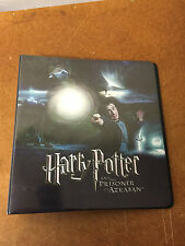 RARE ARTBOX HARRY POTTER THE PRISONER OF AZKABAN UPDATE TRADING CARD BINDER