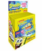 Topps Spongebob Sticker 1 x Display - 30 Tüten Sticker & Stickerkarten