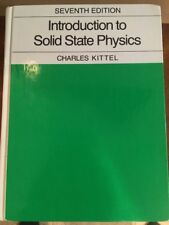 Introduction to Solid State Physics 7th Ed. + 3rd Ed. & 3rd Ed. Solution Manual